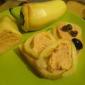 Vacsoracsata: juhtúrós körözött paprikába töltve (AnicasubRosa)