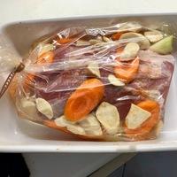 Mindent bele - avagy zöldséges karaj sütőzacskóban