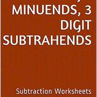15 Subtraction Worksheets With 5-Digit Minuends, 3-Digit Subtrahends: Math Practice Workbook (15 Days Math Subtraction Series 12) Book Pdf