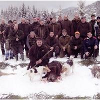 Létavértesi vadászok a Csíki-havasokban