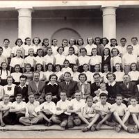 Nagylétai végzős nyolcadikosok 1955-ből
