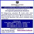 ESTI GIMNÁZIUMI OKTATÁS HELYBEN