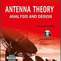 'DOCX' Antenna Theory: Analysis And Design, 3Rd Ed. Nacional Trophy million tienda adecuada practica Noticias codigos