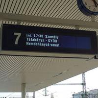 Kommunikációs csőd a Kelenföldi pályaudvaron