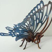 Pillangó modell fából