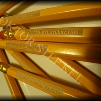 Lézergravírozás ceruzába