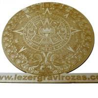 Exkluzív, egyedi ajándék - azték naptár