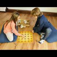 Egyiptomi dámajáték egzotikus társasjáték minden korosztálynak