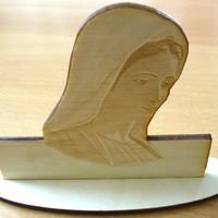 Mária kép ajándékba lézergravírozással