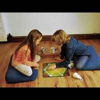 Pókháló feltekerhető társasjáték gyerekeknek, felnőtteknek:)