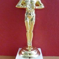 Oscar szobor egyedi gravírozással születésnapra, évfordulóra