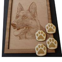 Kutya fénykép gravírozása (ajándék)