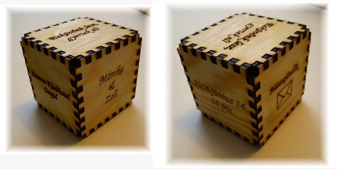 Esküvői meghívó fakocka - Lézergravírozás-exkluzív ajándékok a6d9df65e6