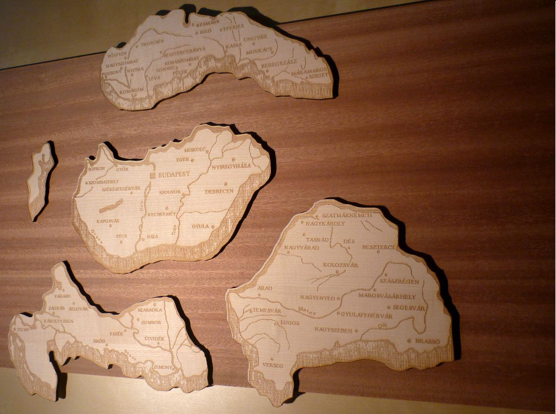 nagy magyarország térkép puzzle Lézergravírozás exkluzív ajándékok nagy magyarország térkép puzzle