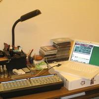 Almás leptop, házistúdió