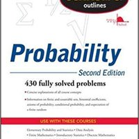 Schaum's Outline Of Probability, Second Edition (Schaum's Outlines) Free Download