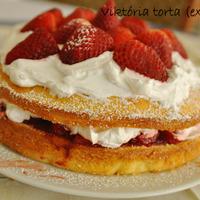 Viktória torta (extrázva)