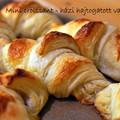Mini Croissant - házi, hajtogatott vajas tésztából
