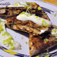 Csirkés quasadilla
