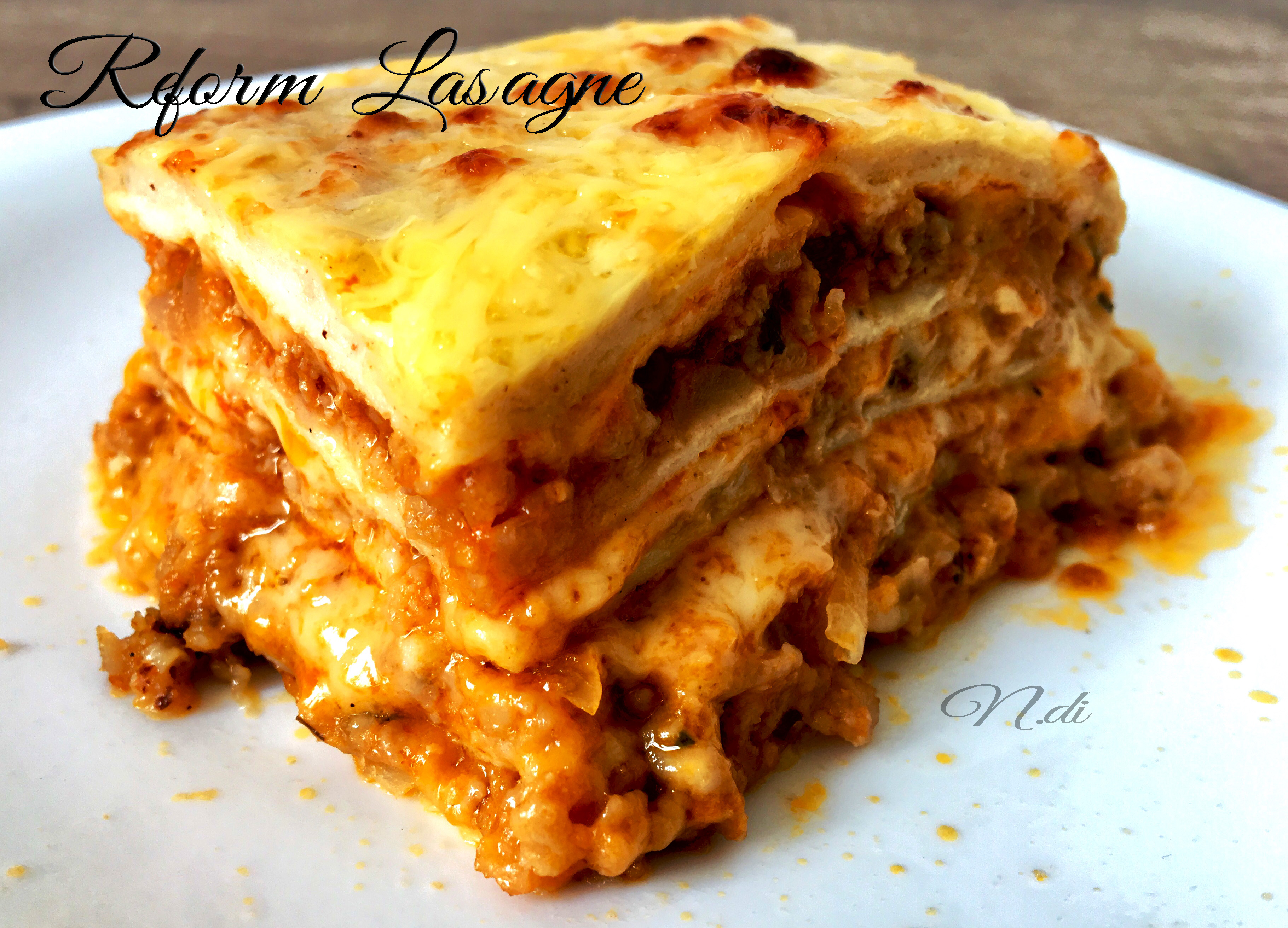 Reform Lasagne