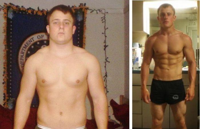 Egy újabb elképesztő változás és testzsír csökkenés