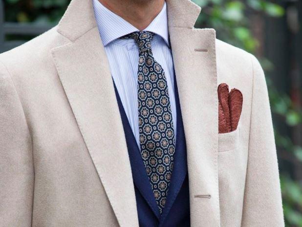 Elegáns esőkabát - Egy gyapjú kabát tökéletesen illik az öltönyödhöz télen.