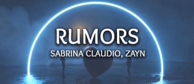 Sabrina Claudio&Zayn - Rumors