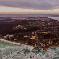 Elképesztő légifotókon a balatoni települések