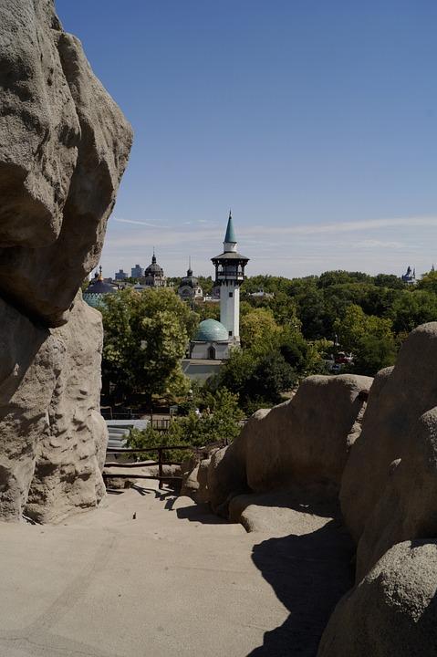 kilátás a szikláról
