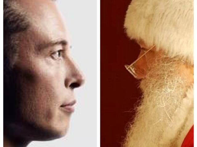 Elon Musk és a Mikulás