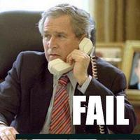 George Bush Telefonál