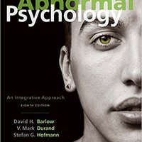 :PDF: Abnormal Psychology: An Integrative Approach. budget mejor hacer Festival required usuarios stylish