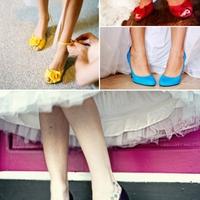 Színes cipő az új trend, cipcirip... :D