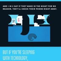 Okostelefonok az ágyban