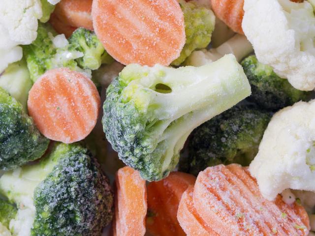 Fagyasztott zöldségek