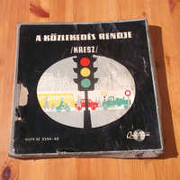 Qualiton hanglemez relikvia 1959 - A közlekedés rendje (KRESZ) 3 LP vinyl hanglemez