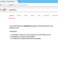 PERPETURUL - a Google is csak innen ismerkedik ezzel szóval