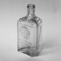 Gyűjtőknek - Kajofi keserűs 2,5 deciliteles üveg - Székesfehérvár 1863