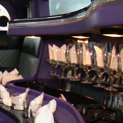 2014 trendi kárpit szín - Hummer limuzin belső
