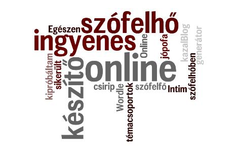 Egészen jópofa az online szófelhő készítő
