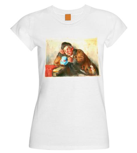 T-Shirt festmény reprodukcióval