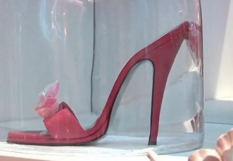 Zahia magassarkú nyári papucs - pink cipő divat
