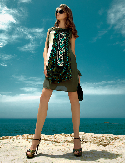 f8d6ad021b Francia divat 2014 tavasz - francia divat 2014 nyár - egy szép nyári ruha  Didier Parakian kollekcióból - Webnaplóm