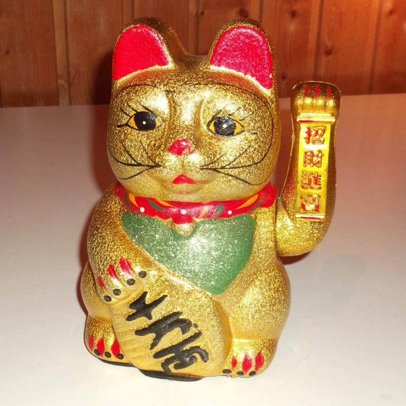 Integető cica - integető szerencse cica