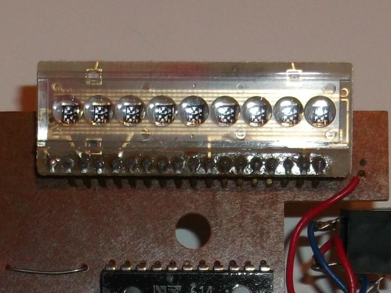 LED kijelző - kilenc számjegyes A1198