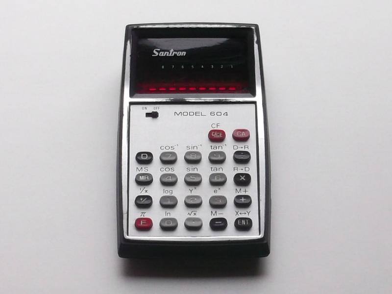 Santron 604 - típus: 038/762 tudományos kalkulátor
