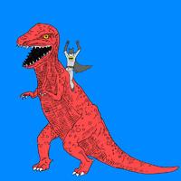 Dinosaur is the new batmobile