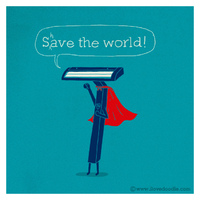 Shave the world