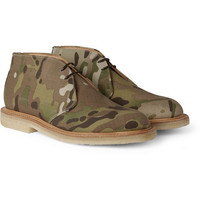 Mark McNairy Camouflage Boots