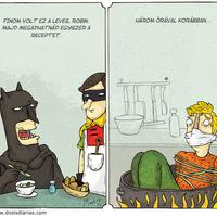 Alberto Montt: Batman Soup